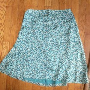 Brand New 100% Silk Liz Claiborne skirt